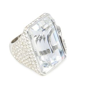 Authentic CHRISTIAN DIOR Rectangle 'D' Ring